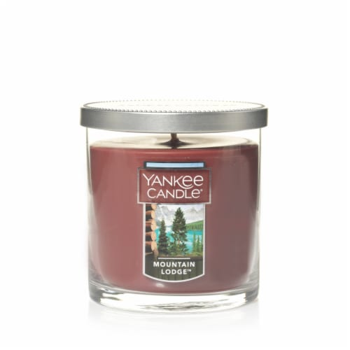 Yankee Candle Mountain Lodge Jar Candle Perspective: front