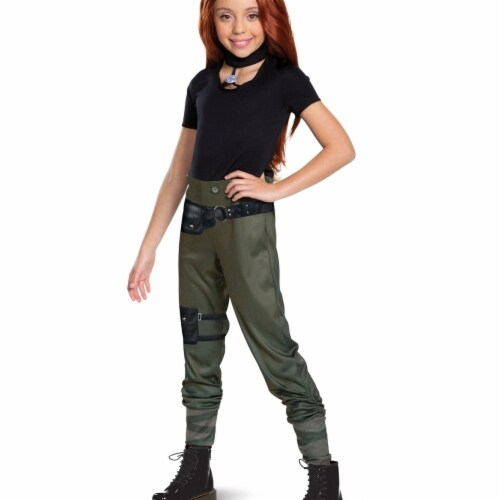 Disguise 402993 Girls Kim Classic Child Costume, Medium 7-8 Perspective: front