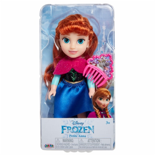 Disney Petite Anna Doll with Comb Perspective: front