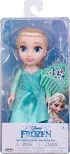 Disney Petite Elsa Doll with Comb Perspective: front