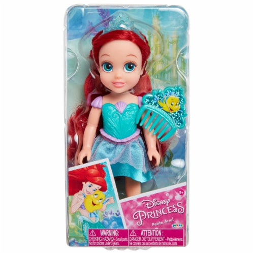 Disney Petite Ariel Doll with Comb Perspective: front