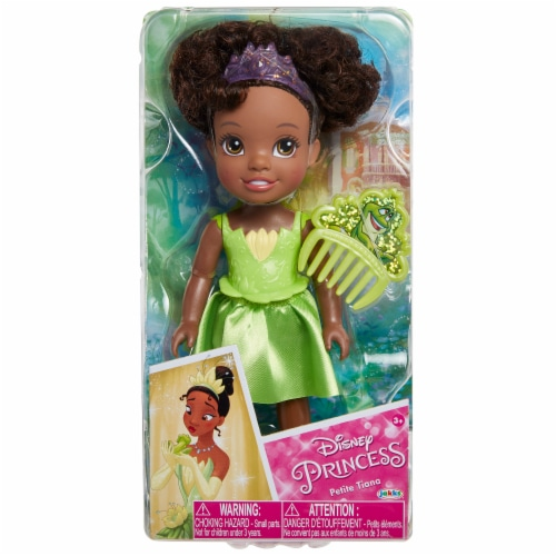 Disney Petite Tiana Doll with Comb Perspective: front