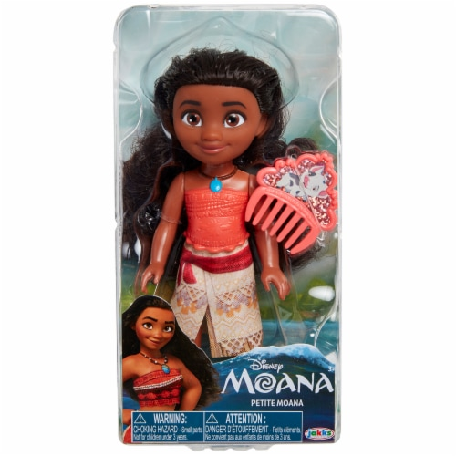 Disney Petite Moana Doll with Comb Perspective: front