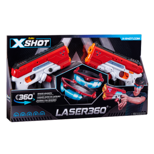 Zuru X-Shot Excel Laser 360 Blasters Perspective: front