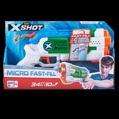 ZURU X-Shot Micro Fast-Fill Water Blaster Perspective: front