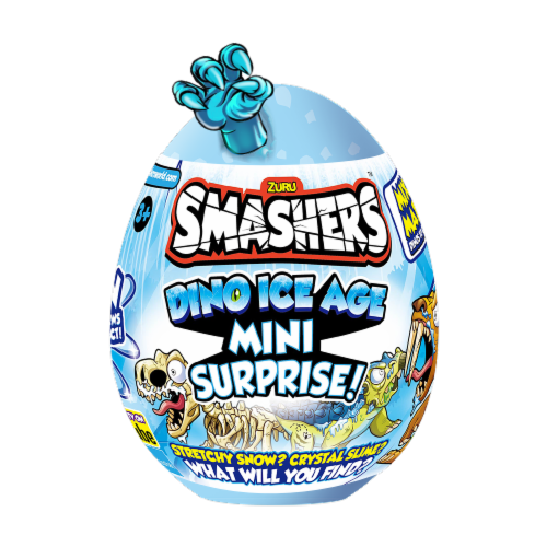 Zuru Smashers Dino Ice Age Mini Surprise Egg Perspective: front