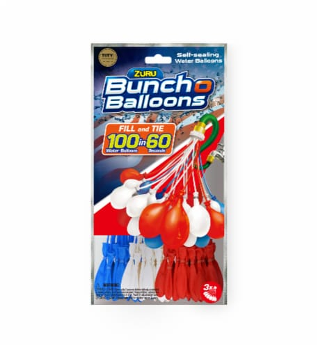 Bunch O Balloons Red White & Blue Perspective: front