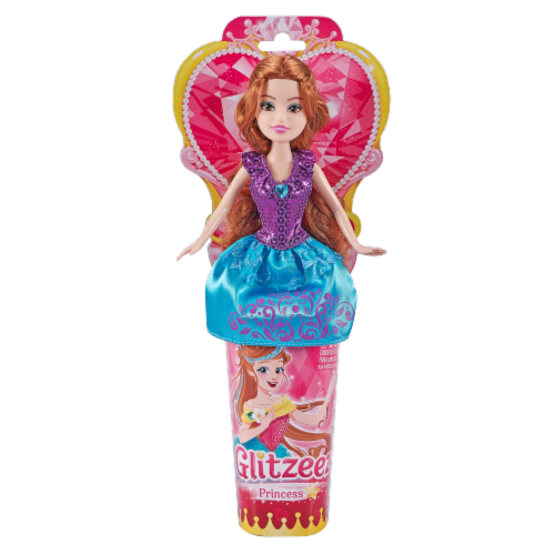 Zuru Glitzeez Super Sparkly Princess Doll - Assorted Perspective: front