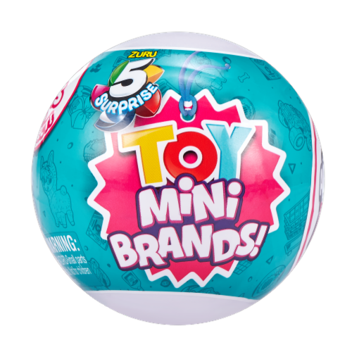 Zuru 5 Surprise Mini Brands Toy Perspective: front