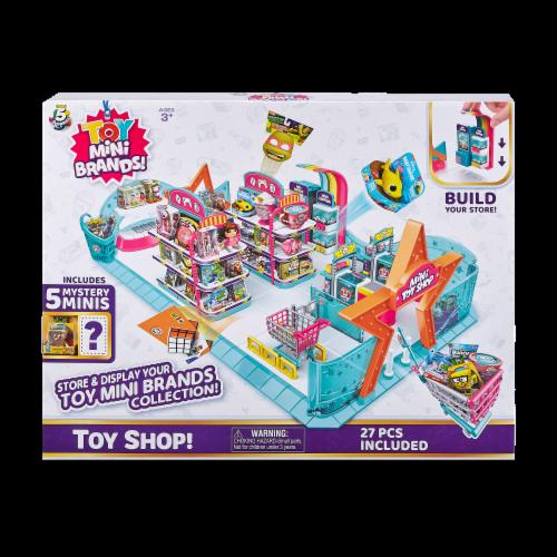 Zuru 5 Surprise Mini Brands Series 1 Toy Shop Playset Perspective: front