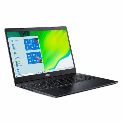 Acer® Aspire 3 Notebook Laptop - Charcoal Black Perspective: front
