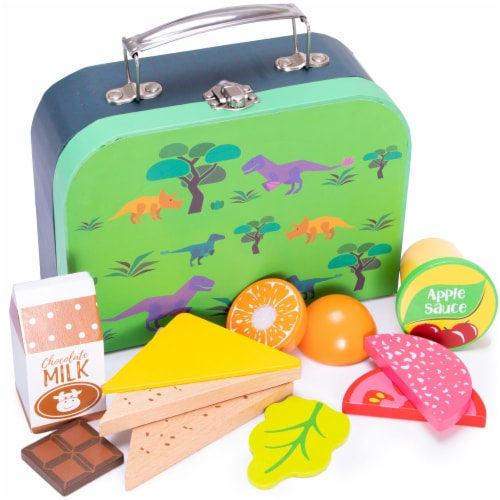 Prehistoric Lunch Box Playset Perspective: front