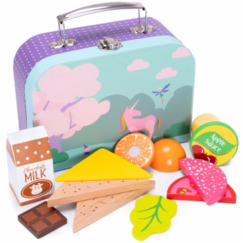Mythical Lunch Box Playset Perspective: front