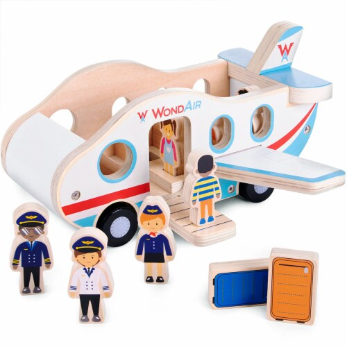WondAir Jet Playset Perspective: front
