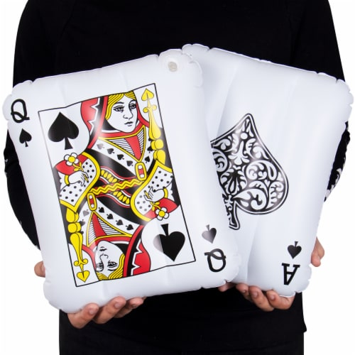 Inflatable Playing Cards, 2-pack Perspective: front