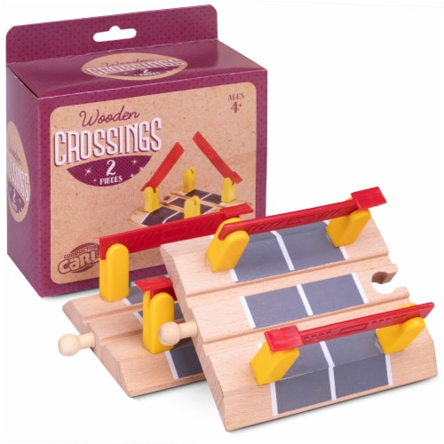Train Track Crossings, 2-pack Perspective: front