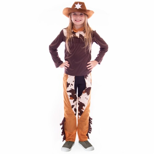 Ride 'em Cowgirl Costume, L Perspective: front