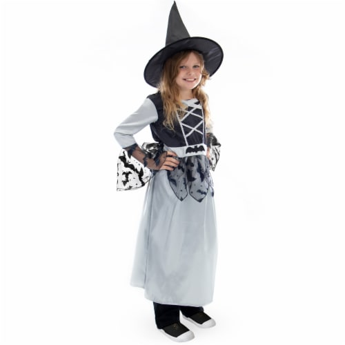 Bewitching Witch Costume, 3-4 Perspective: front