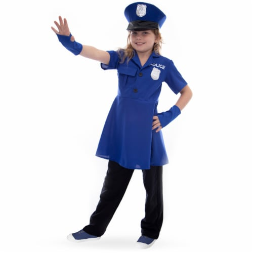 Proud Police Officer Costume, S Perspective: front