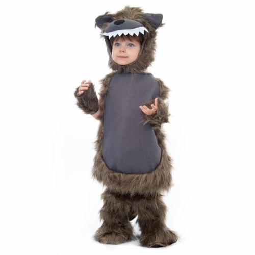 Furry Werewolf Costume - Child's Halloween, 3-4 Perspective: front