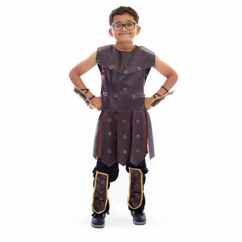 Mighty Warrior Halloween Costume, Large Perspective: front