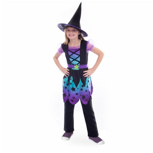 Enchanting Witch Costume, 10-12 Perspective: front