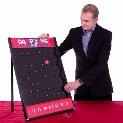 """Drop Zone Mini, 26"""" x 19"""" Portable Plinko Board Perspective: front"""