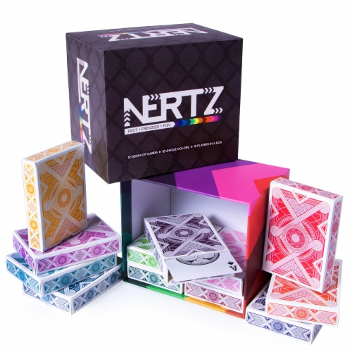 Nertz: The Fast Frenzied Fun Card Game Perspective: front