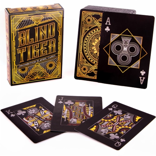 Blind Tiger Prohibition Playing Cards Perspective: front