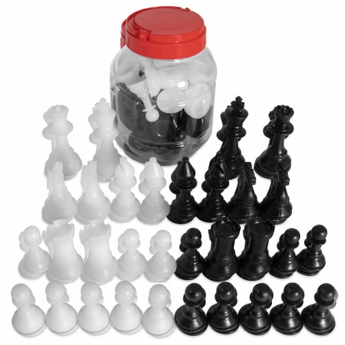 Chess Pieces Bucket Perspective: front
