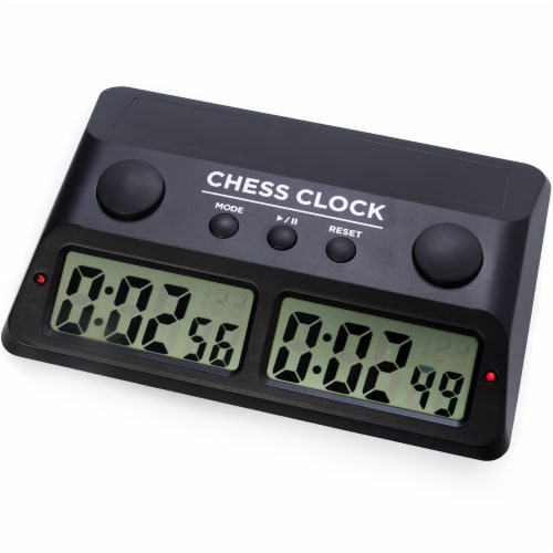 Digital Chess Clock Perspective: front