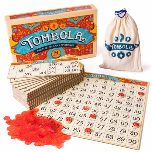 Tombola Board Game Perspective: front