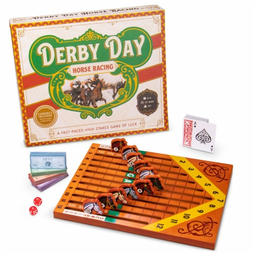 Derby Day Horse Racing Game Perspective: front