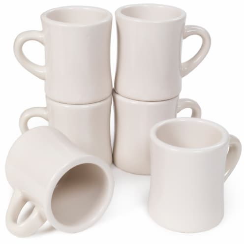 10 oz. Coffee Mugs, 6-pack Perspective: front