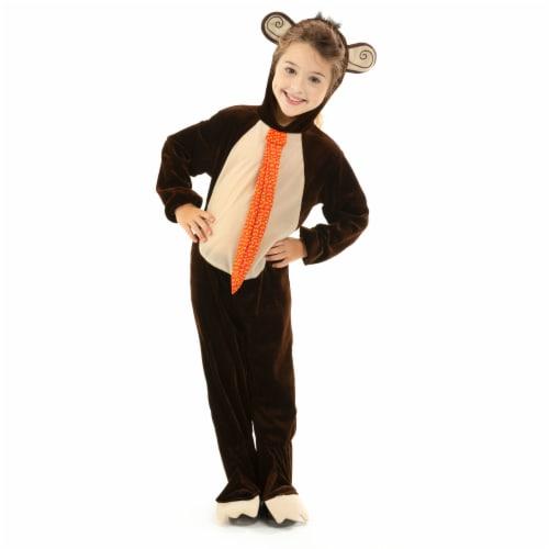 Monkey Children's Costume, 3-4 Perspective: front