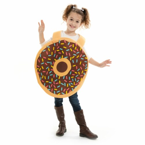 Donut Children's Costume, 5-6 Perspective: front