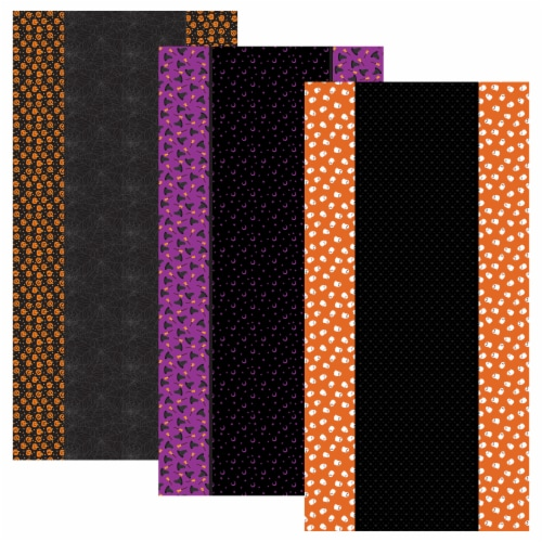 Halloween Tablecloths, 3-pack Perspective: front