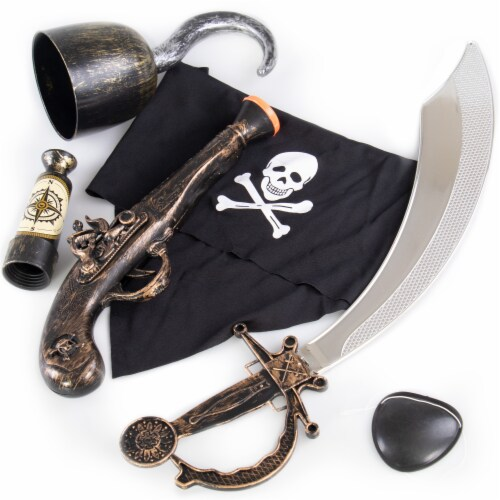 Caribbean Pirate Accessory Pack Perspective: front