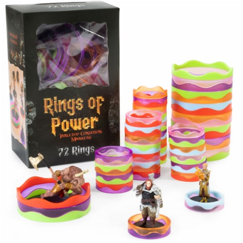 Rings of Power Tabletop Condition Markers Perspective: front