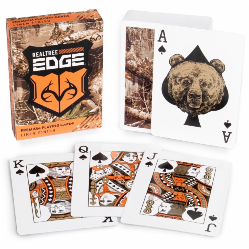 Realtree Edge Camouflage Playing Cards Perspective: front