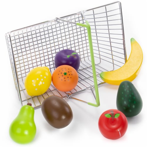 My Healthy Shopping Basket Produce Set Perspective: front