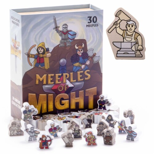 Meeples of Might Perspective: front