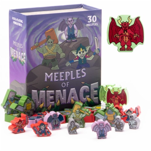 Meeples of Menace Perspective: front