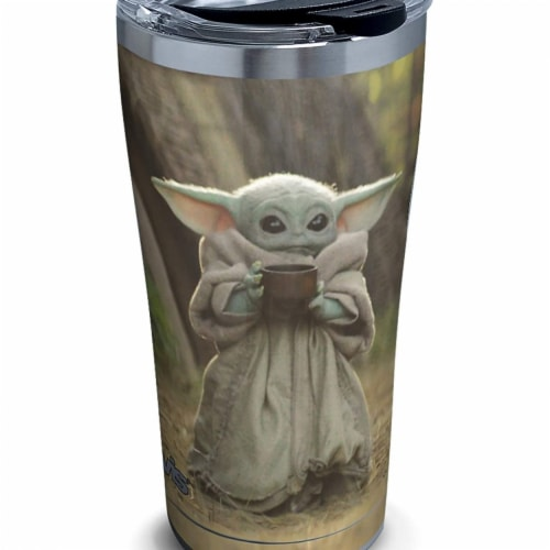Star Wars 806313 The Mandalorian the Child Sipping Tervis Tumbler - 20 oz Perspective: front