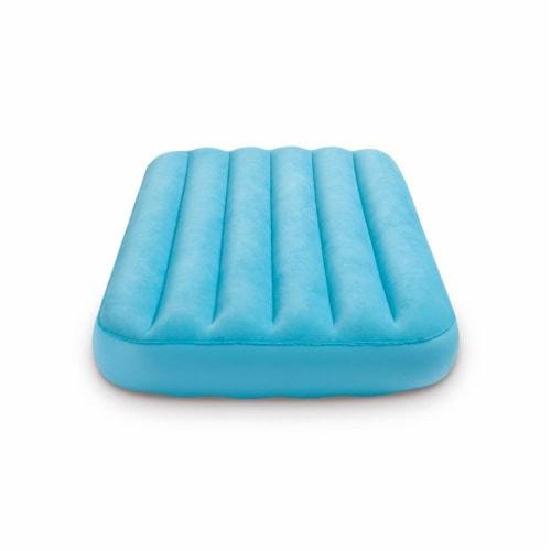 Intex 120V Cordless Electric Air Pump Intex Kidz Inflatable Air Mattress w/ Bag Perspective: front
