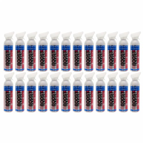24 Pack 10L Boost Oxygen Stars and Stripes Pure Canned Oxygen Canister, Natural Perspective: front
