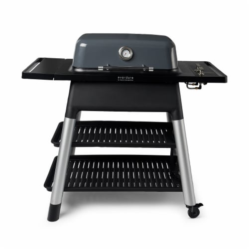 Everdure Force by Heston Blumenthal 2 Burner Freestanding Propane Grill,Graphite Perspective: front