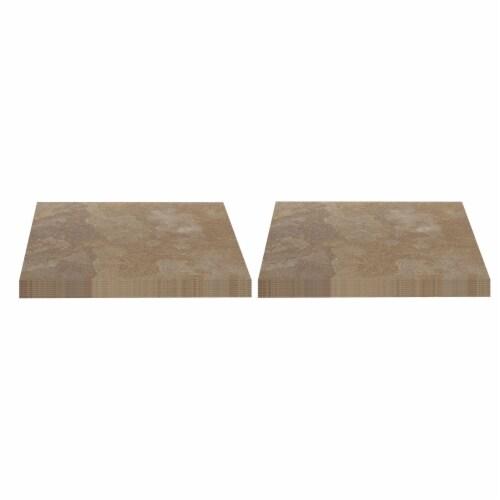 Achim Home Furnishings Nexus Peel & Stick Vinyl Floor Tile, Light Slate, 40Pk Perspective: front