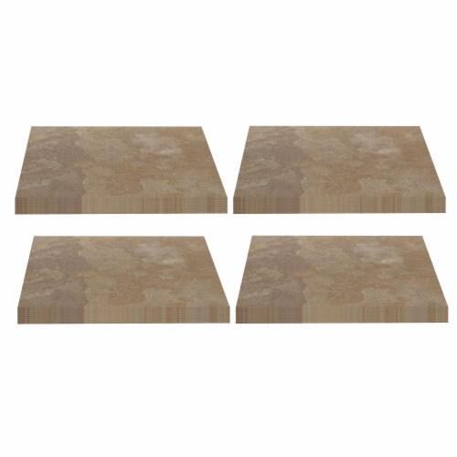 Achim Home Furnishings Nexus Peel & Stick Vinyl Floor Tile, Light Slate, 80Pk Perspective: front