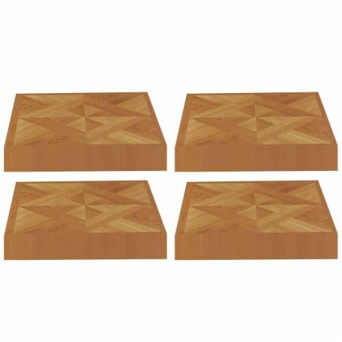 Achim Home Furnishings Nexus Peel & Stick Vinyl Floor Tile, Light Oak, 80 Pack Perspective: front